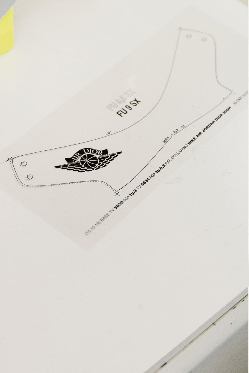 jordan brand dior air jordan 1 high low white grey oblique jaquard pattern kim jones thibo travis scott rui hachimura clothing sneakers official release raffle date info photos price buying guide