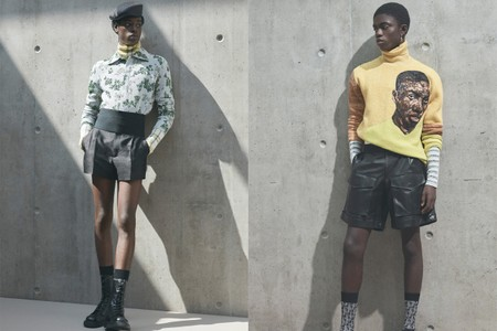 Dior Paints the 'Portrait of an Artist' With Amoako Boafo for SS21 Collection