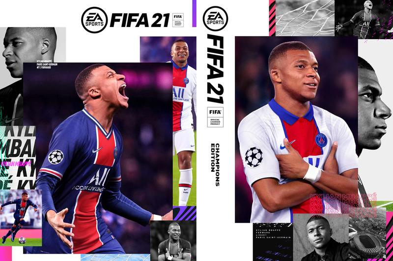 EA Sports Kylian Mbappé Cover Athlete FIFA 21 2018 FIFA World Cup Champions Edition Ultimate Edition PSG France Paris Saint-Germain F.C.