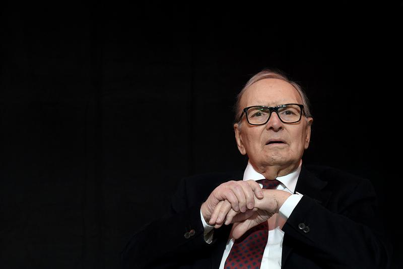 Ennio Morricone Movie Composer Died Tarantino The Hateful Eight the Good the Bad and the Ugly The Simpsons Sergio Leone