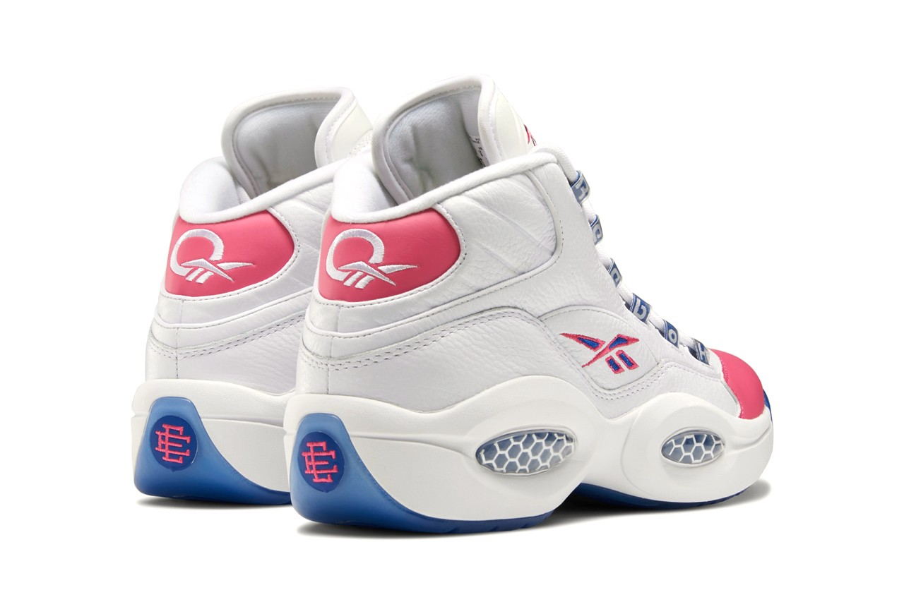 eric emanuel reebok question mid allen iverson white blue pink pantone team dark royal fx7441 official release date info photos price store list buying guide