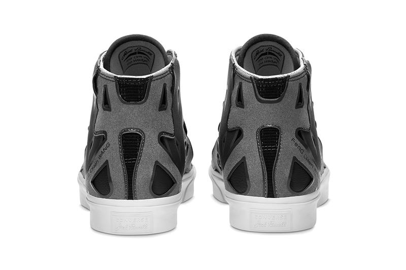 feng chen wang converse jack purcell apparel black white sea salt details release information buy cop purchase fall winter 2020 london fashion