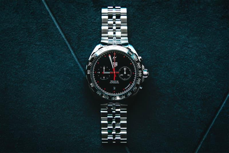 fragment design x TAG Heuer Formula 1 Watch A Closer Look hiroshi fujiwara watches timepiece swiss watches