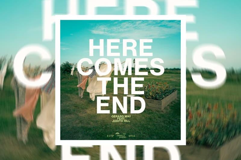 Gerard Way Here Comes the End Single Stream the umbrella academy season 2 netflix tv shows ellen page mcr my chemical romance