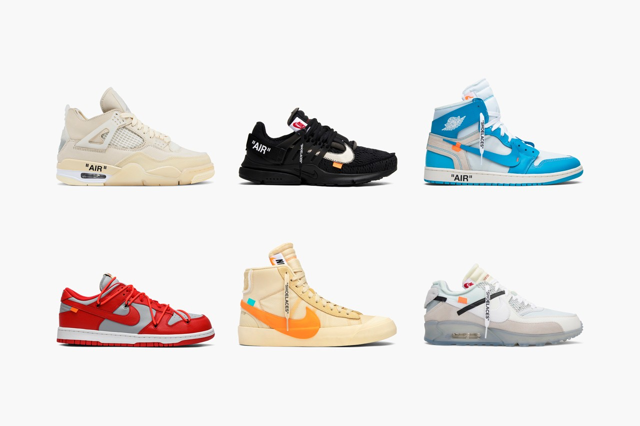 Off-White x Nike AJ4 Virgil Sneakers