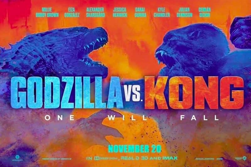 Godzilla vs. Kong' Battle First Look | HYPEBEAST