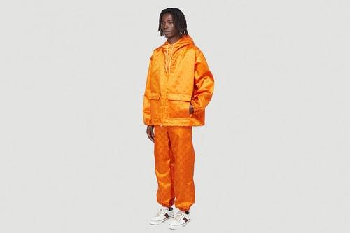 "Gucci Drops Eco-Friendly Nylon ""GG""-Printed Shell Suits"