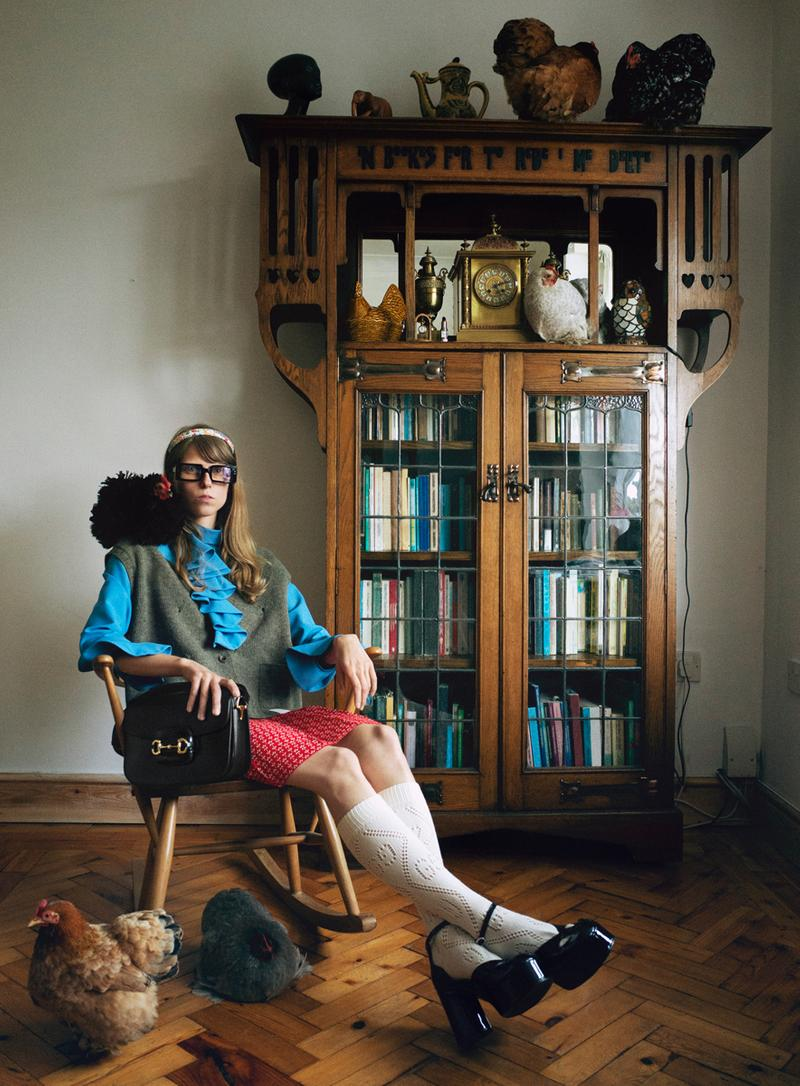 """Gucci Fall/Winter 2020 """"The Ritual"""" Campaign models self-portraits film candid footage behind-the-scenes"""