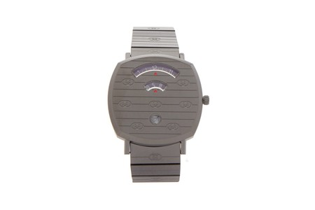 Gucci Releases Limited-Edition Grip Watch in Stealthy Gunmetal Gray Hue