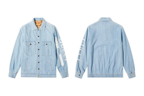 Gucci Gives Nod to Trackside Styles With Reworked Denim Jacket