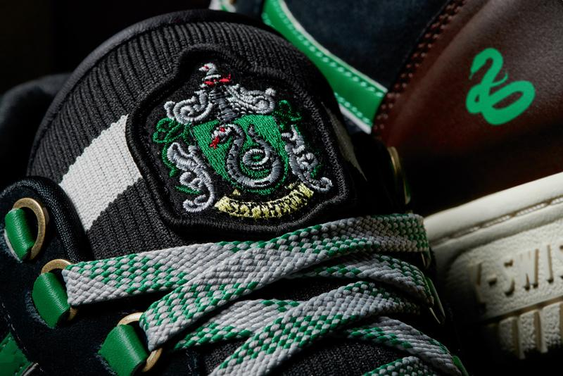 harry potter k swiss back to hogwarts collection classic 2000 gstaad cr terrati caprina court pro ii gryffindor hufflepuff ravenclaw slytherin official release date info photos price store list buying guide