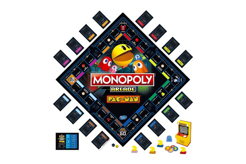 tabletop family game monopoly pac man retro arcade unit edition hasbro