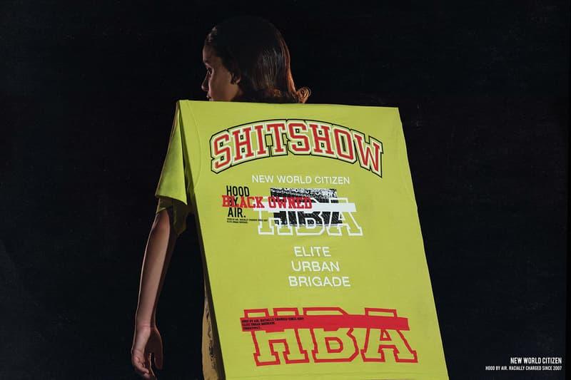 Hood By Air HBA T-Shirt Drop Shayne Oliver LGBTQ