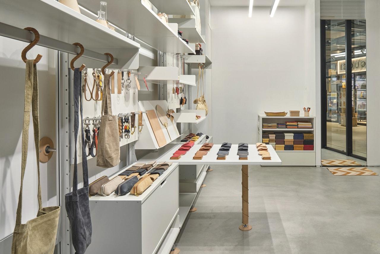 Hender Scheme Rayard Miyashita Park Sukima Store inside look japan shop mall