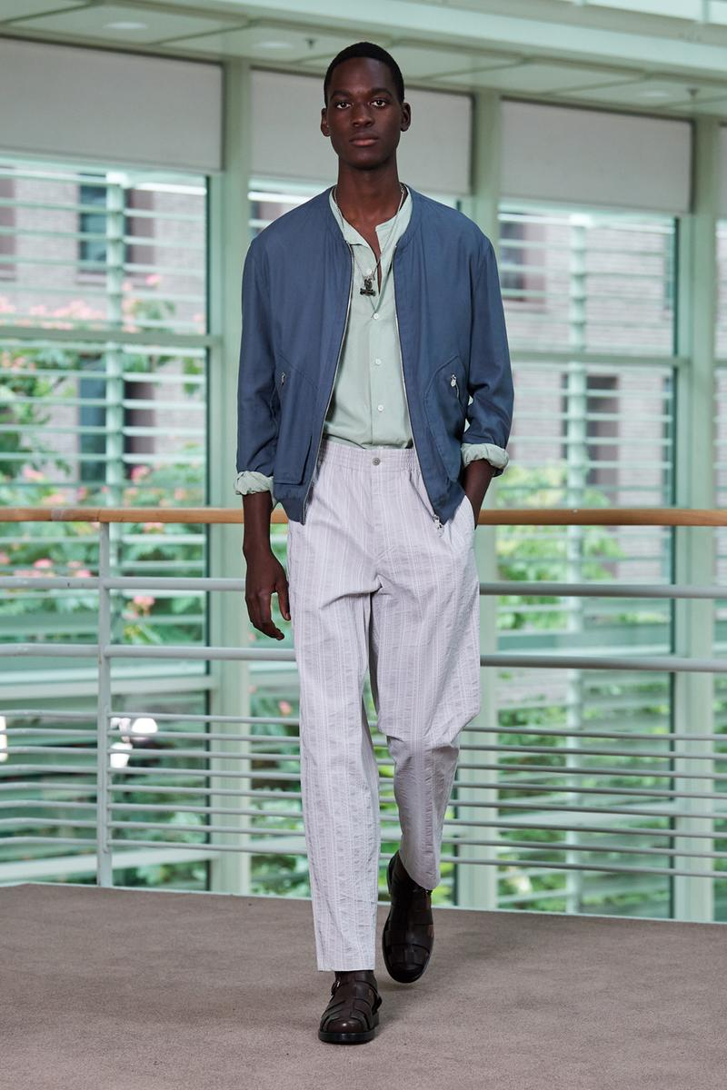 Hermès Spring 2021 Menswear Collection Runway apparel clothing ss21 summer