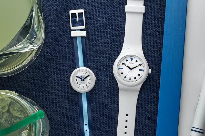 hodinkee watches accessories swatch sistem51 flik flak summer edition timepiece release