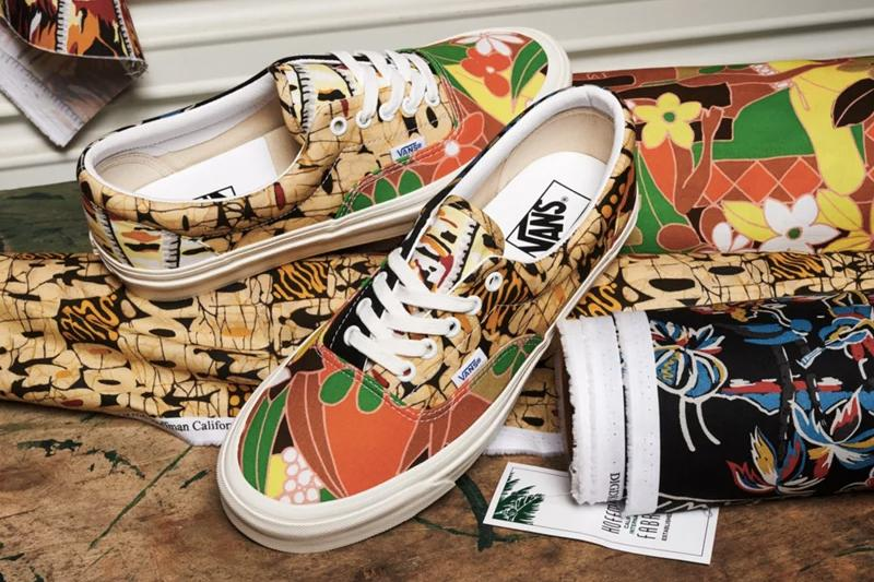 Vans Anaheim Factory 2020 collection Hoffman California Fabrics Sk8 Hi Era Old Skool Authentic Footwear Release Information Closer Look Drop Date Skateboarding Surf Culture Cali Hand Dyed Limited Edition