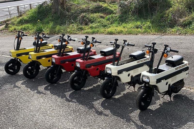Honda Motocompo Trademark News Motocompacto electric scooter bikes motorcycles Honda City Turbo II