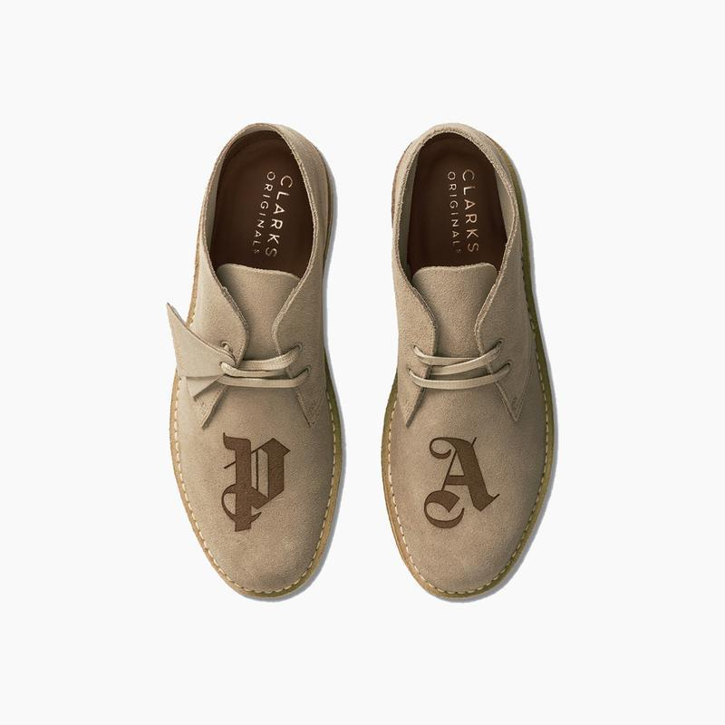 Palm Angels x Clarks Originals Desert Boots Release Where to buy Price 2020 Collaboration
