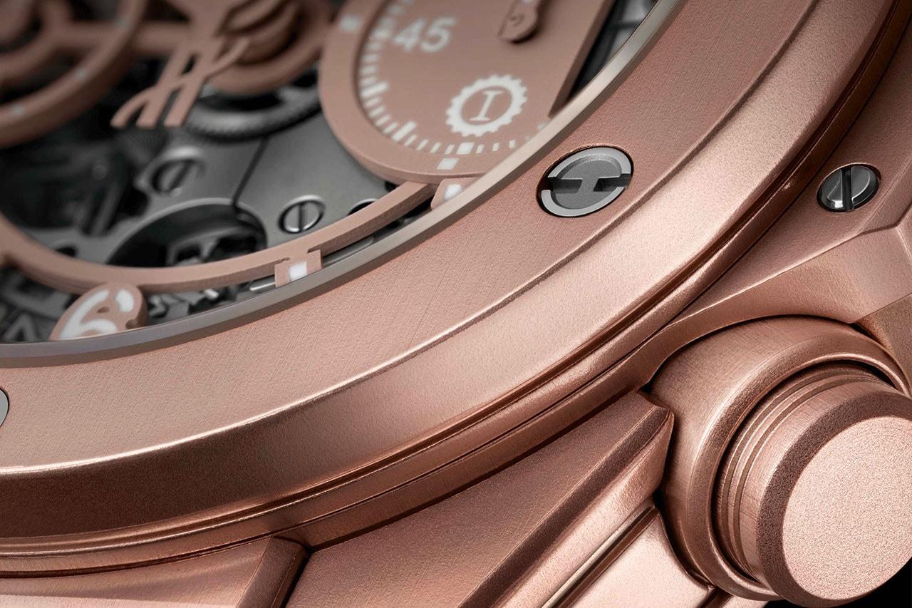 Hublot Garage Italia Big Bang Millennial Pink Chronograph watch timepiece collaboration release date info buy