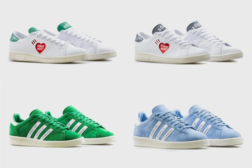 HUMAN MADE and adidas Ready New Takes on the Stan Smith and Campus