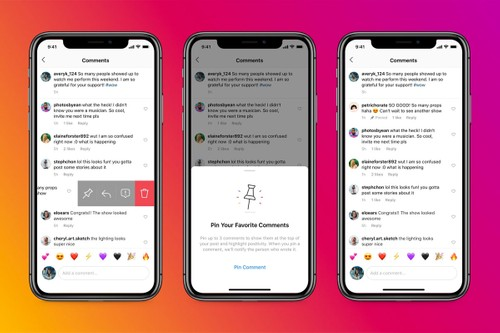 Instagram Launches Pinned Comments Feature Globally