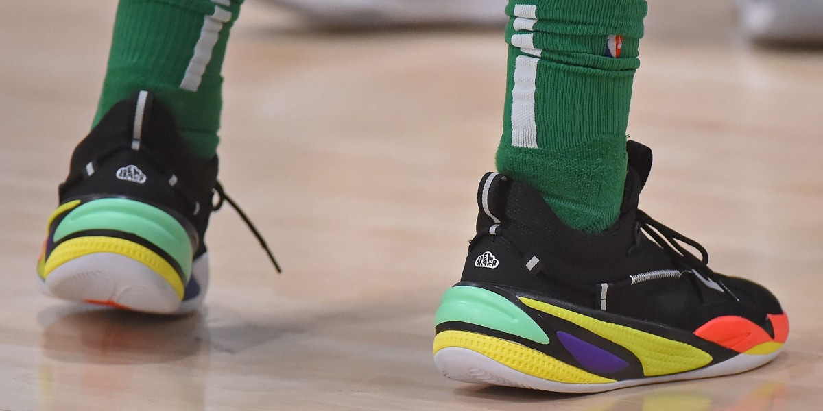 puma first basketball shoe