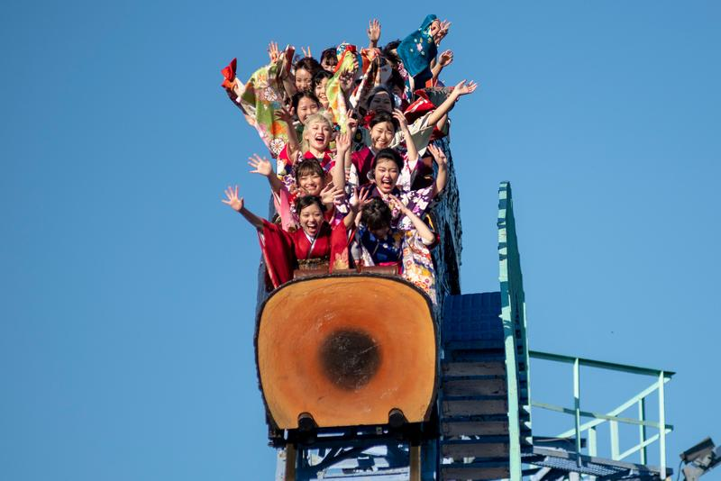 Japanese Amusement Parks Encouraging No Screaming Roller Coasters Info Coronavirus COVID-19