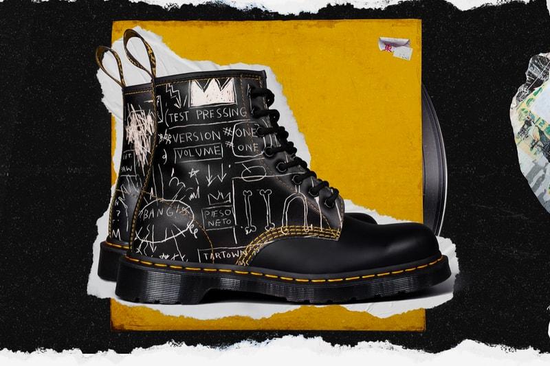 Dr. Martens' 1460 and 1461 Receive Jean-Michel Basquiat Artwork