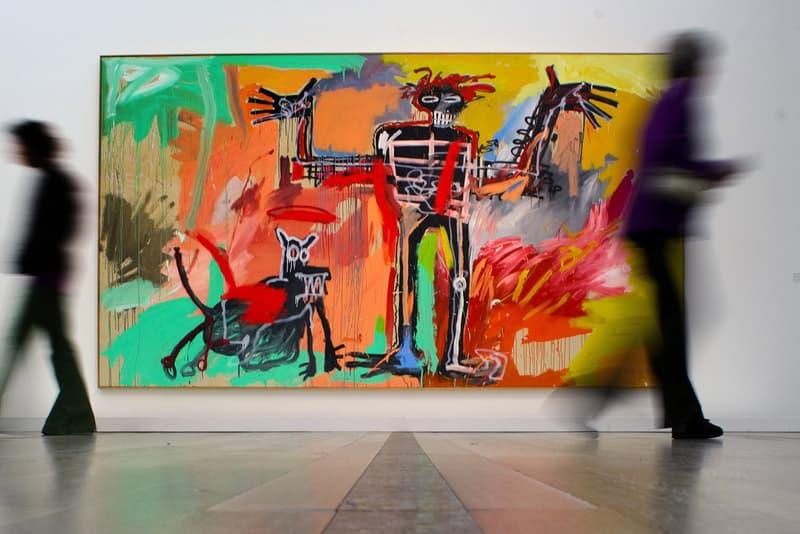 Jean-Michel Basquiat $100 Million USD Painting art institute of chicago ken griffin 'boy and god in johnnypump' Kenneth C. Griffin
