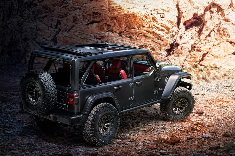 Jeep V8 Wrangler Rubicon 392 Concept Revealed Ford Bronco Release Information Rival SUV American Truck 4x4 Closer Look 450 BHP 450 lb.-ft. torque
