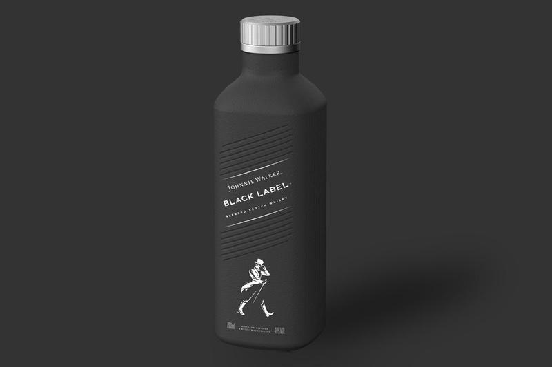 Johnnie Walker whisky Diageo recyclable sustainable paper bottles 2021 Pulpex Limited Pilot Lite UN sustainability goals carbon emissions