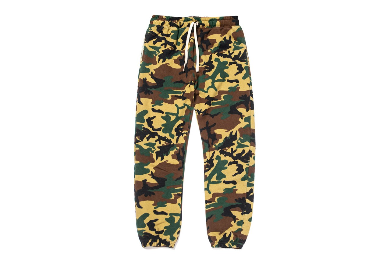 jsp standard issue tees jimmy gorecki french terry camo camouflage collection hoodie sweatshirt sweatpants sweatshort shorts official release date info photos price store list buying guide