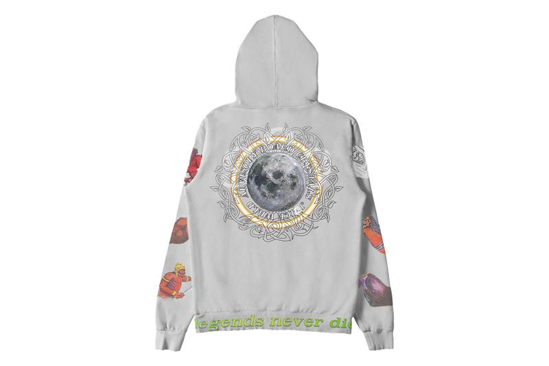 Juice WRLD x Advisory Board Crystals Hoodie Merch conspiracy of hope legends never die release date limited edition buy info album store