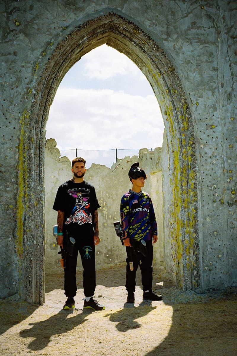 Juice WRLD x FaZe Clan 'Legends Never Die' Collaboration capsule collection clothing buy album single release date