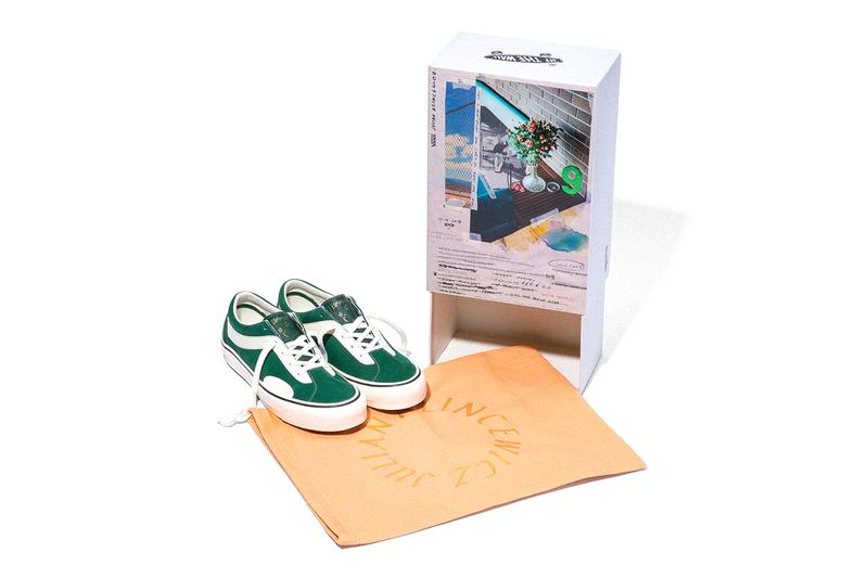 Julian Klincewicz Vans Vault Bold Ni LX COMPASSION communication community menswear streetwear spring summer 2020 collection ss20 footwear sneakers shoes kicks runners trainers artist