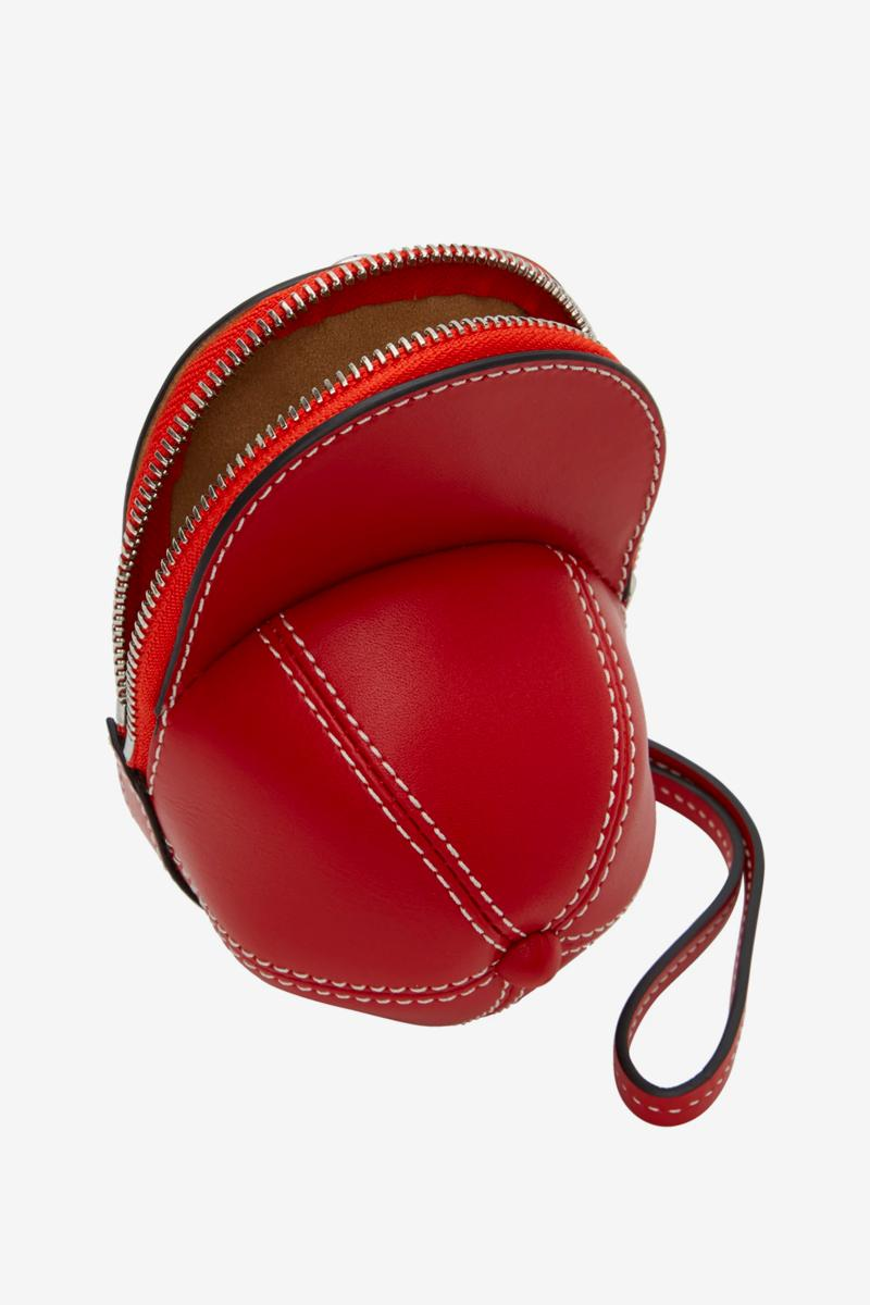 JW Anderson Baseball Nano Cap Bags red black menswear streetwear spring summer 2020 collection ss20 accessories lineup designer