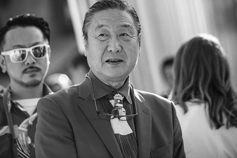 Kansai Yamamoto Dead 76 miki yamamoto david bowie ziggy stardust london fashion week ukiyoe prints runway lfw 1975 leukaemia