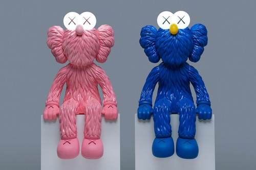 """""""SEEING"""" Pink With KAWS' 'BFF'"""