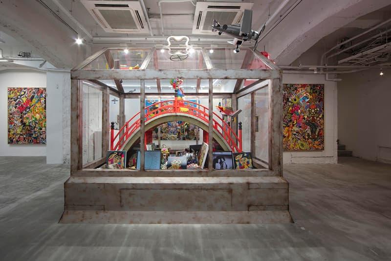 keiichi tanaami nanzuka tokyo gallery memorial reconstruction exhibition