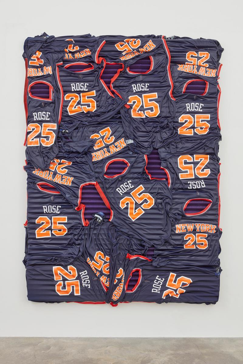 kevin Beasley acoustic panels online exhibition james harden derrick rose draymond green stephen curry