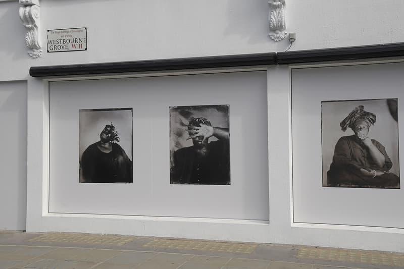 Khadija Saye Grenfell tower fire artist exhibition london david lammy nicola green