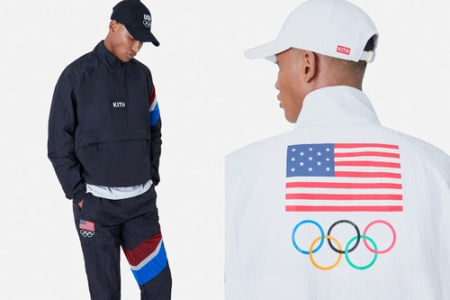 KITH Readies Team USA Olympic Tracksuit Capsule