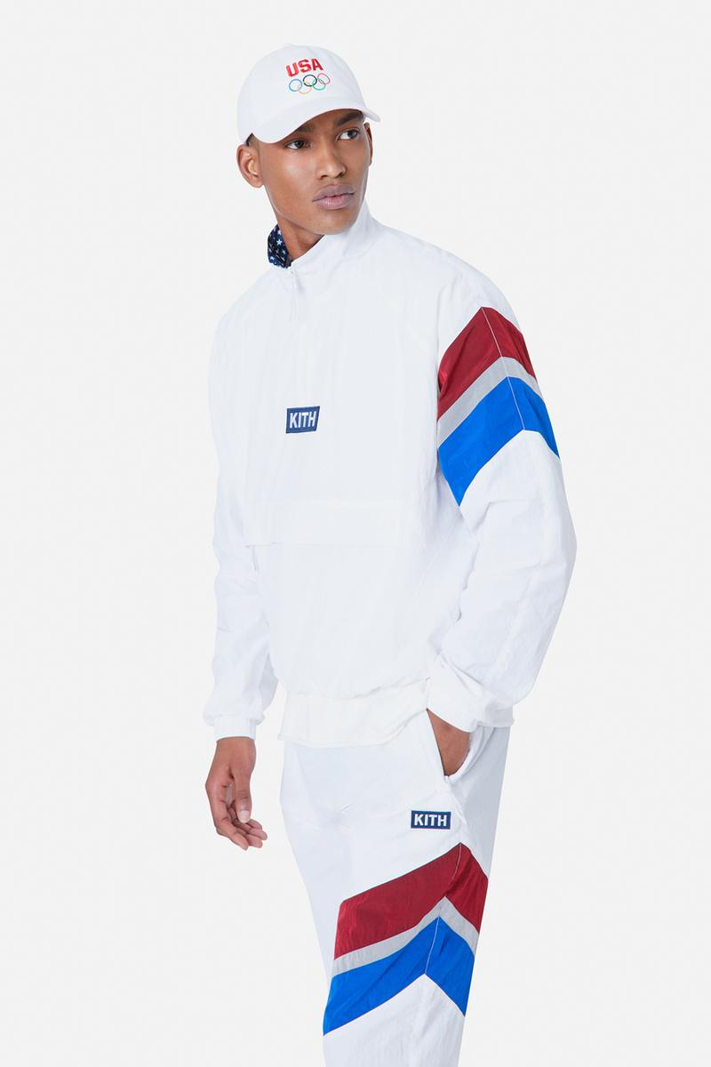kith team usa 2020 2021 tokyo olympics olympic games hat track jackets pants official release date info photos price store list buying guide