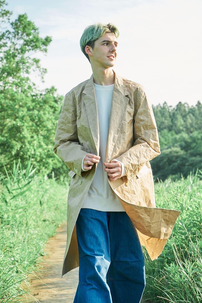 KUON Spring/Summer 2021 Collection Lookbook ss21 japan shinichiro ishibashi designer patchwork boro indigo dye sashiko