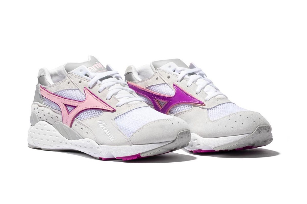 la mjc club 75 michael dupouy mizuno mondo control white pink grey purple D1GD194464 official release date info photos price store list buying guide