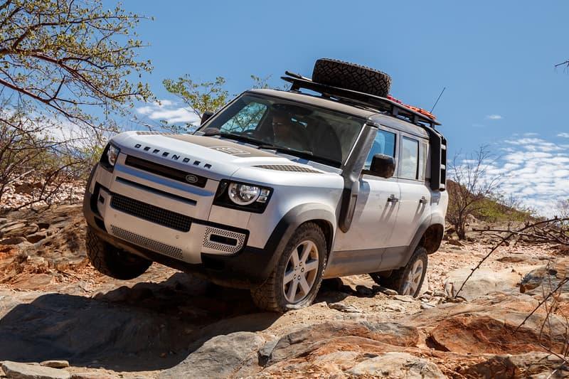 Land Rover New Defender Asia Release Online Broadcast Rosalyn Lee