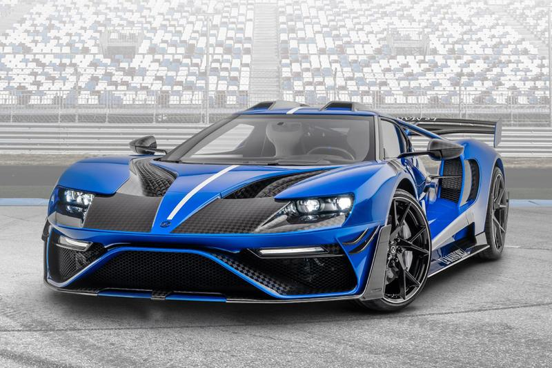 Le MANSORY Ford GT Custom Tuned Bodykit Widebody Supercar American Muscle Sports Car Tuner Automotive News  3.5-litre twin-turbocharged V6 700 HP