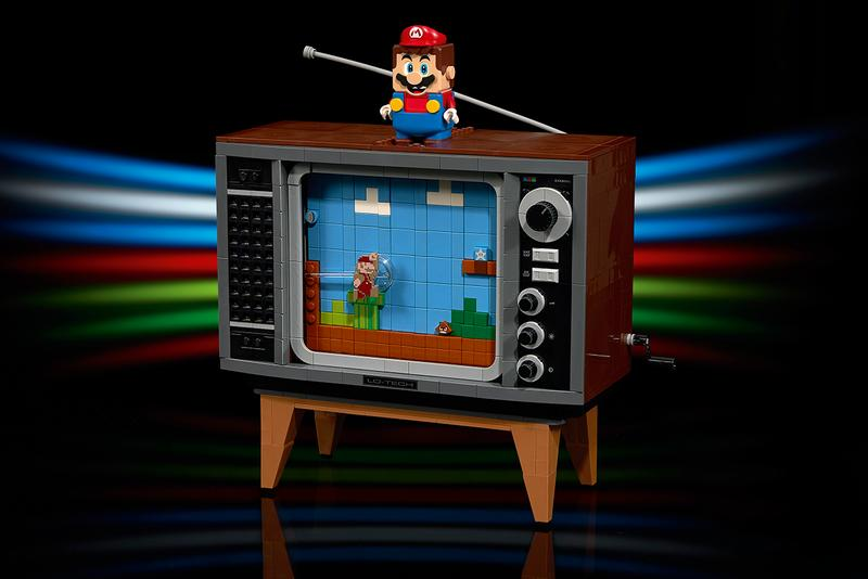 lego nintendo super mario nes console details build tv buy cop purchase release information build your own
