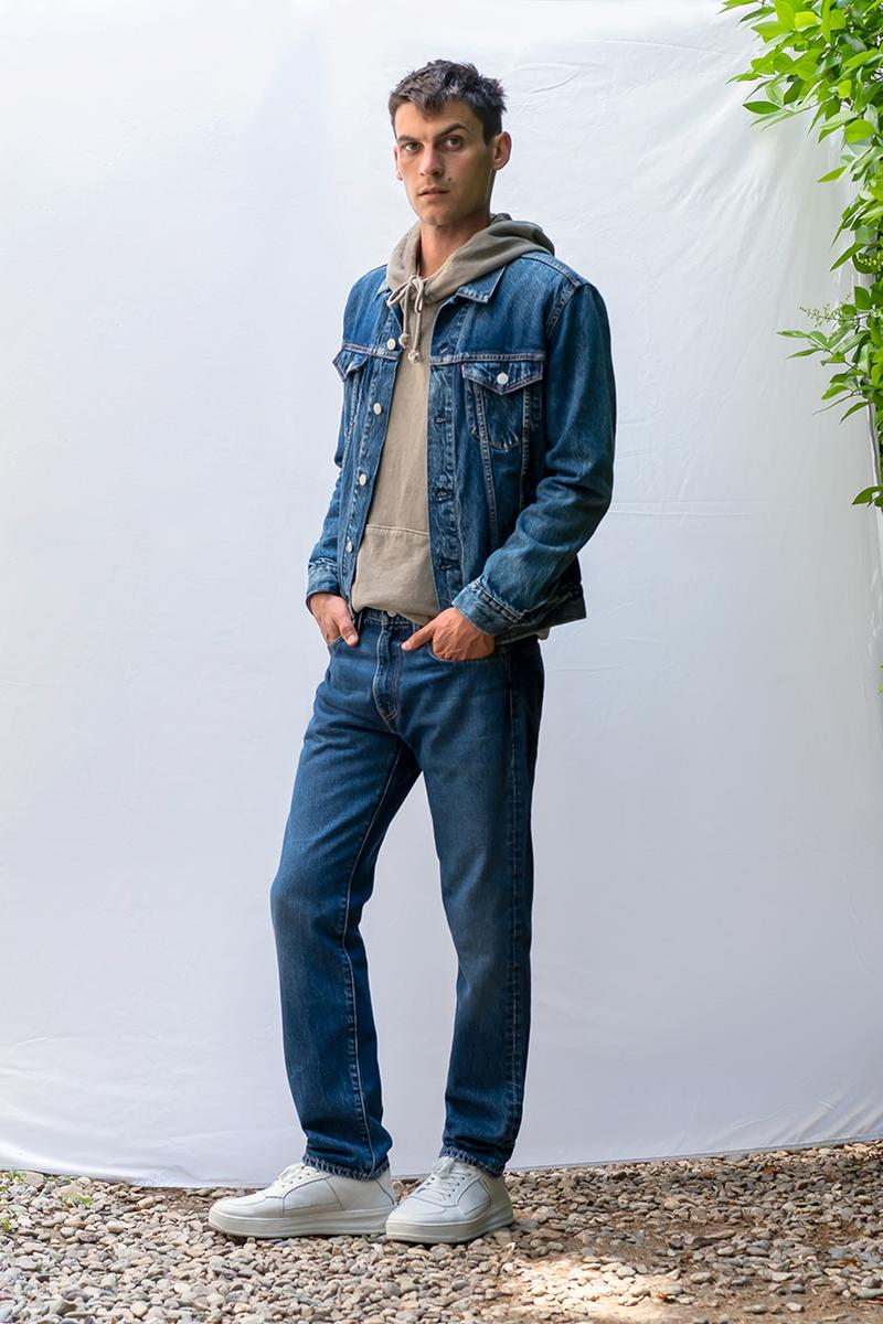 levi's denim sustainable recyclable 502 wellthread high loose circlose re:newcell buy cop purchase how it works details